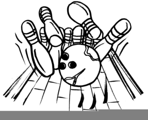 Bowling Pin Clipart Black And White.