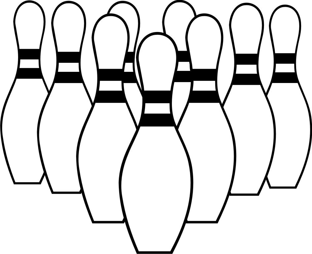 Bowling Clipart.