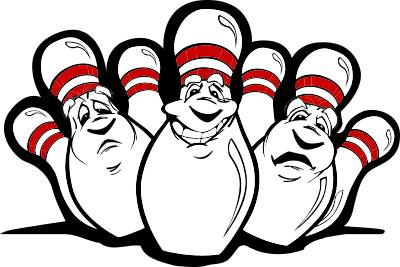 Funny Bowling Cliparts.