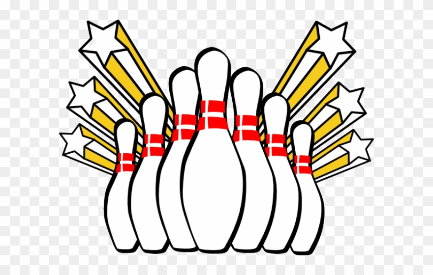 Bowling Clipart Banner.