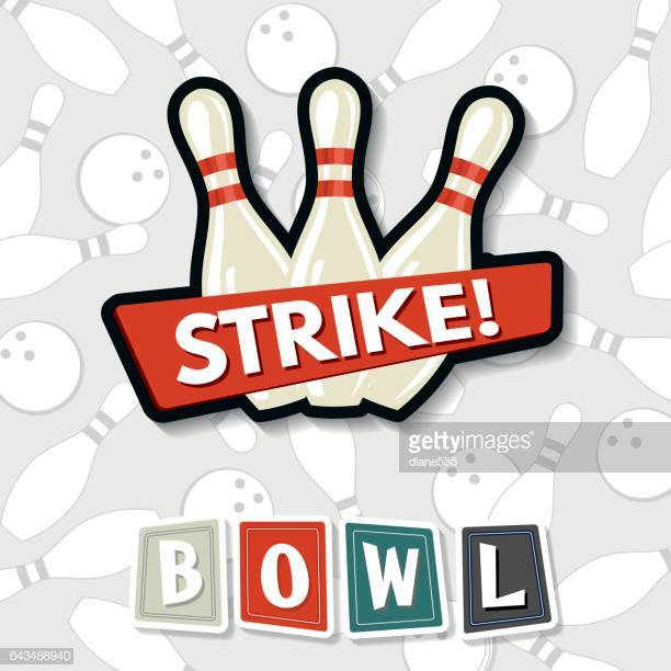 60 Top Ten Pin Bowling Stock Illustrations, Clip art, Cartoons.