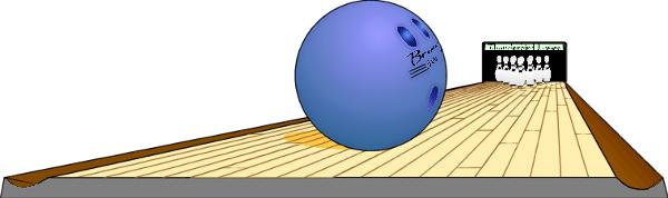 bowling lane.
