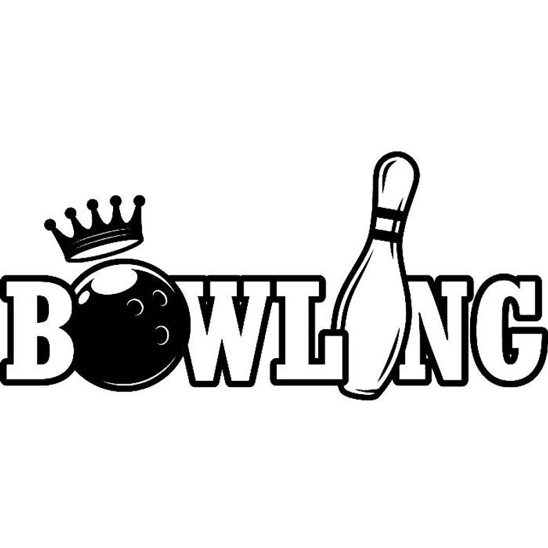 Bowling Logo #8 Ball Pin Sports Bowl Game Bowler Alley Strike Tournament  Competition League Logo .SVG .EPS .PNG Clipart Vector Cricut Cut.