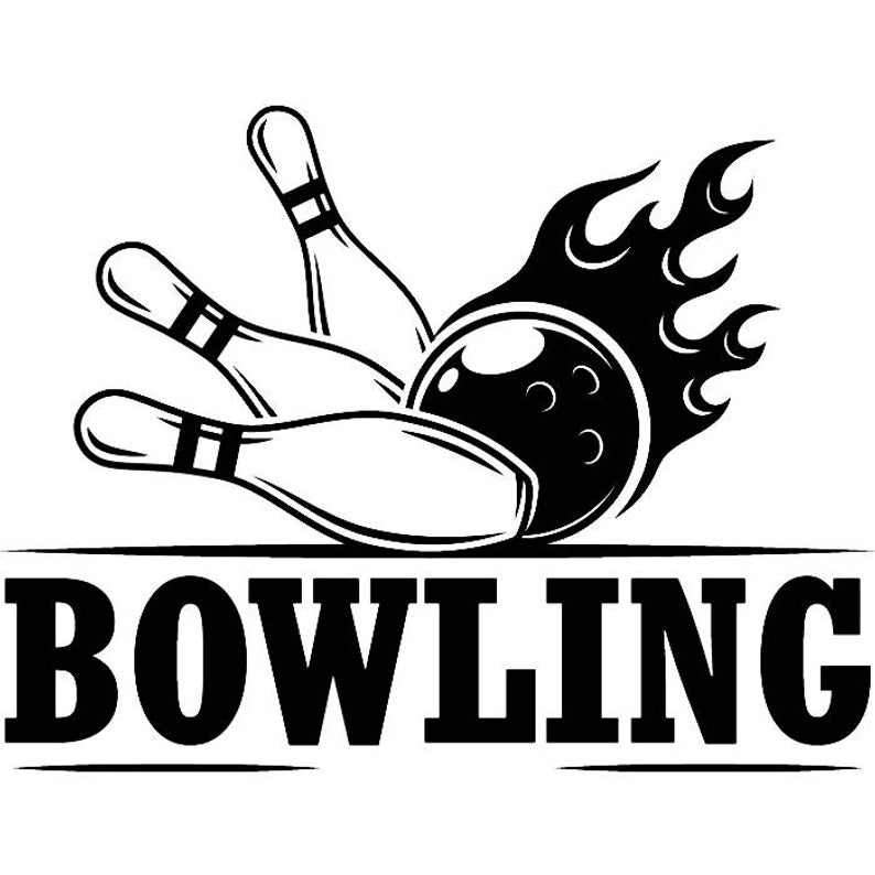 Bowling Logo #11 Ball Pin Sports Bowl Game Bowler Alley Strike Tournament  Competition League Logo .SVG .EPS .PNG Clipart Vector Cricut Cut.