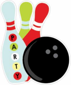 Bowling party clipart » Clipart Portal.