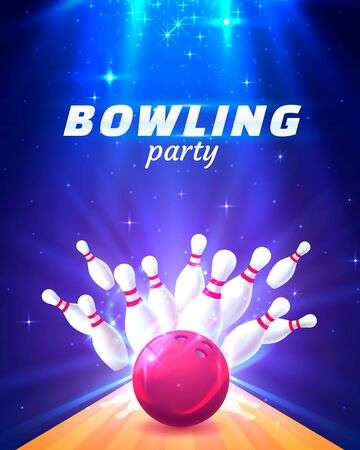 447 Bowling Party Cliparts, Stock Vector And Royalty Free Bowling.