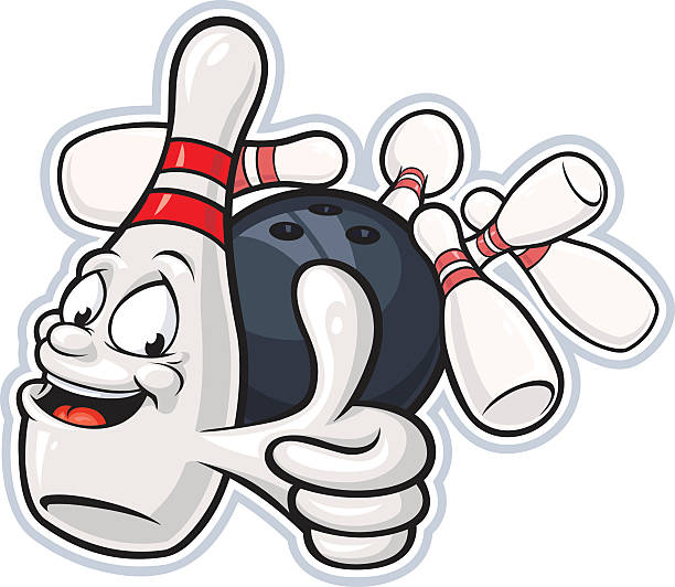 Best Bowling Pins Illustrations, Royalty.