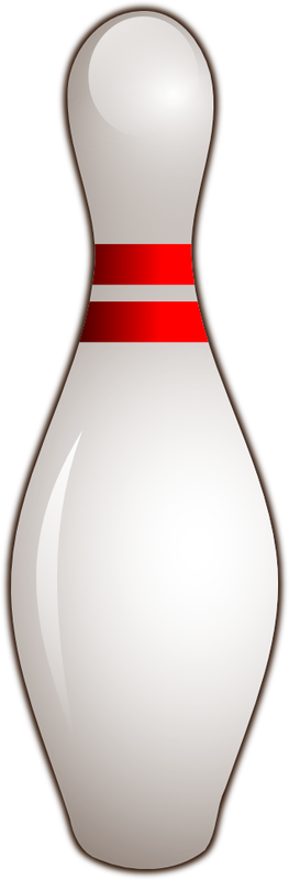 Bowling pin clipart images.