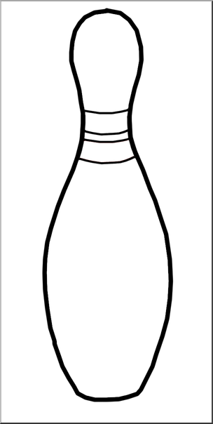 Bowling Pins Clipart Black And White HashTag Bg Best Clip Art Casual.