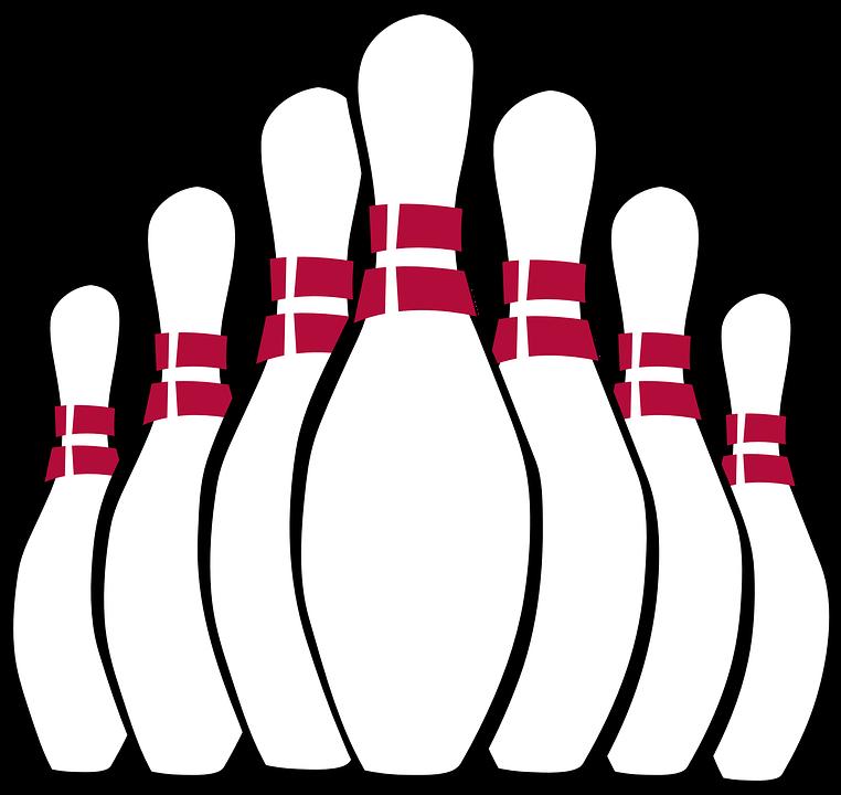 HD Pin Bowling Seven Play White Game.