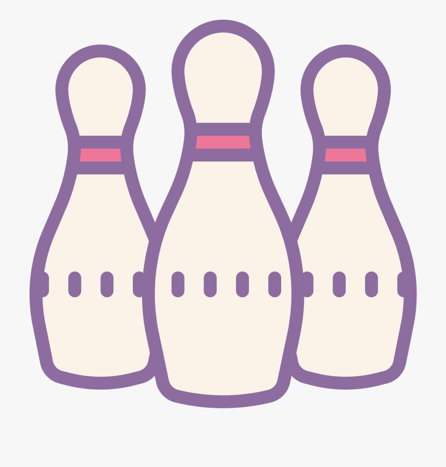 Bowling Pin Clipart.