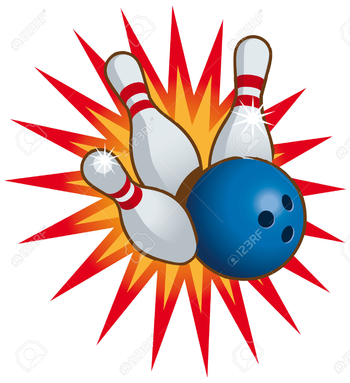 Bowling pin and ball clipart » Clipart Station.