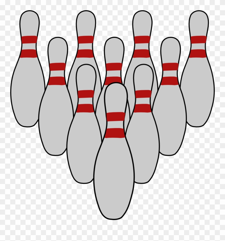 Bowling Pins Clipart Bowling Pin Ten.