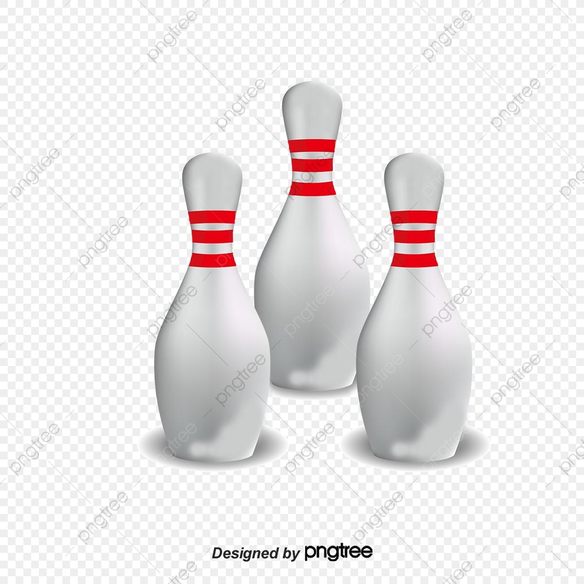 Bowling Pin Material, Bowling Clipart, Bowling, Bowling Pins PNG.