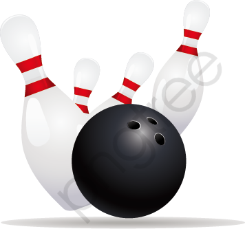 Bowling, Ball, Ball Poster Material PNG and Vector with Transparent.