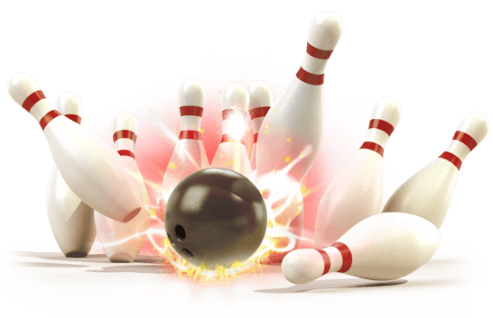 Bowling Strike transparent PNG.