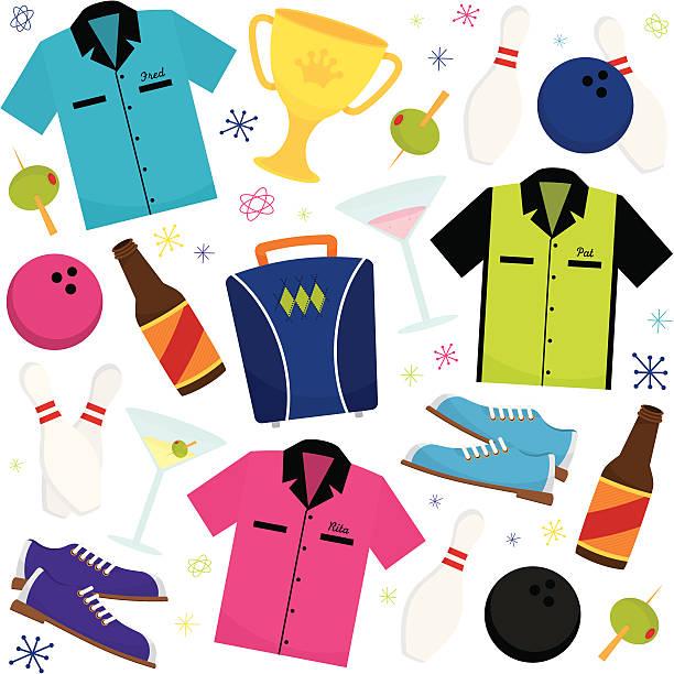 Best Bowling Shirt Illustrations, Royalty.