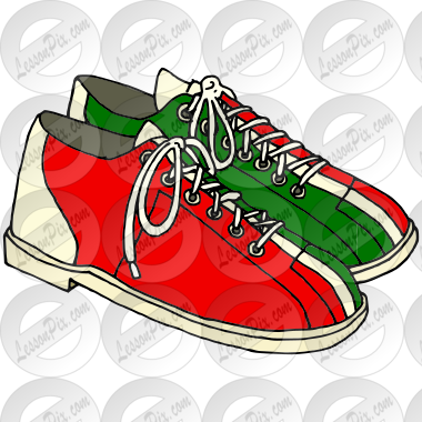 Bowling Shoes Picture for Classroom / Therapy Use.