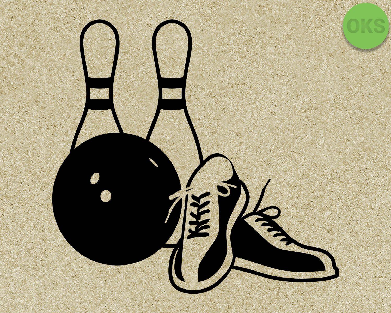bowling svg, bowling pins svg files, bowling shoes vector, clipart.