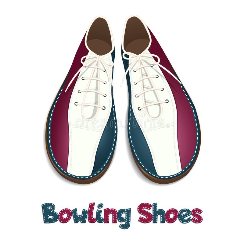 Bowling Shoes Stock Illustrations.