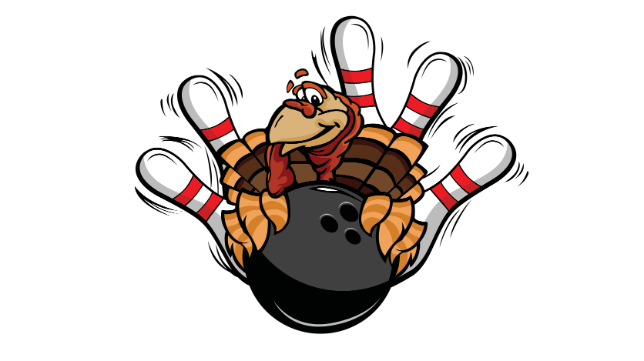 Turkey Bowling and Games at Hanover Central High School.