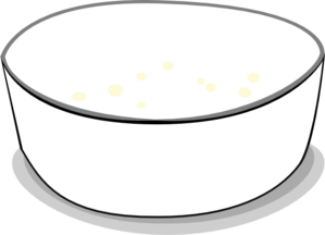 Empty Bowl Clip Art.