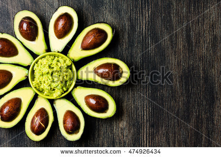 Avocado Stock Images, Royalty.