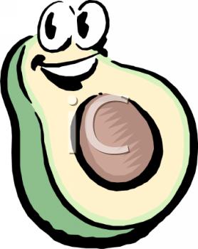 Showing post & media for Guacamole face cartoon.