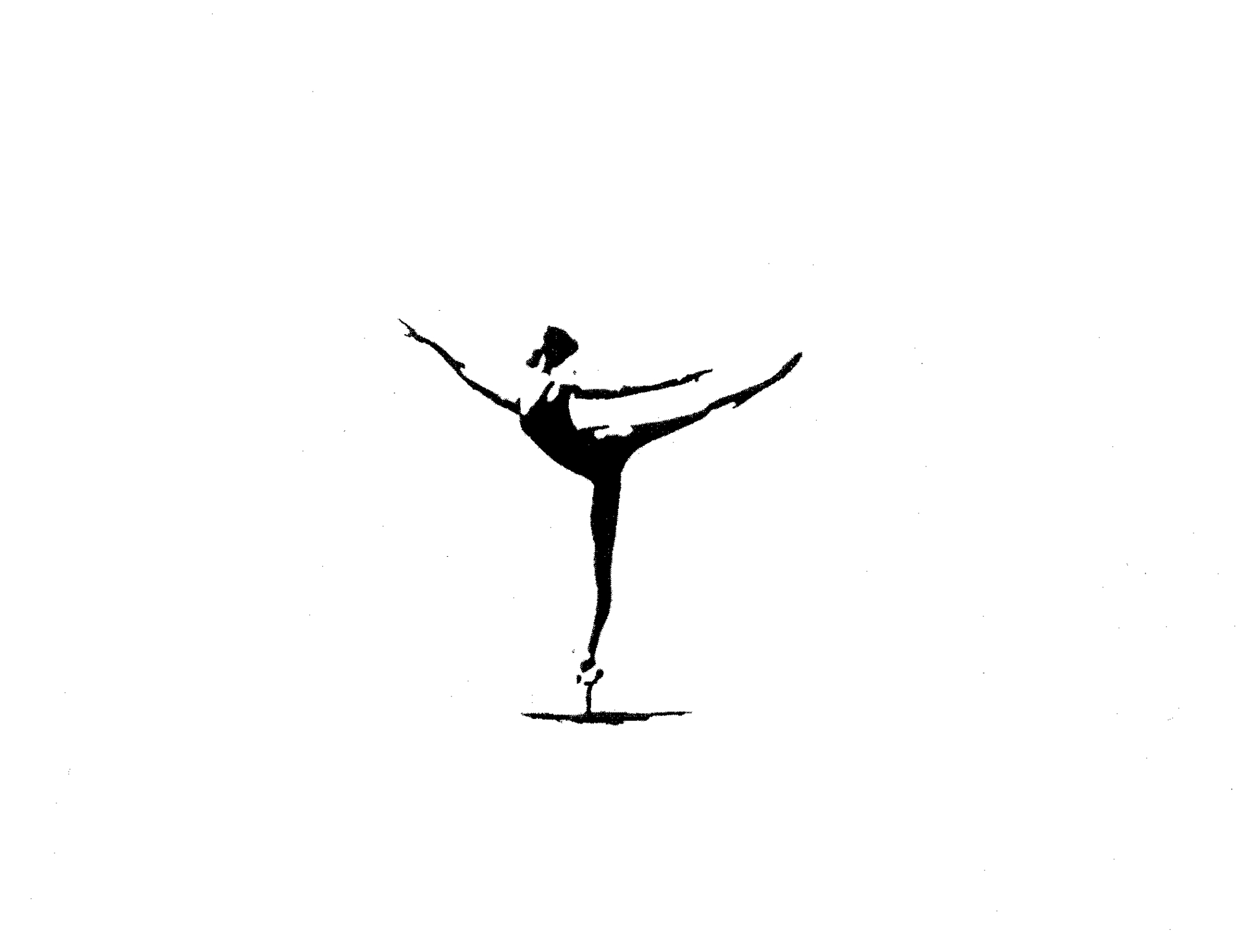 BALLET DANCERSILHOUETTE By Christine Bowman 1451051 Clipart.