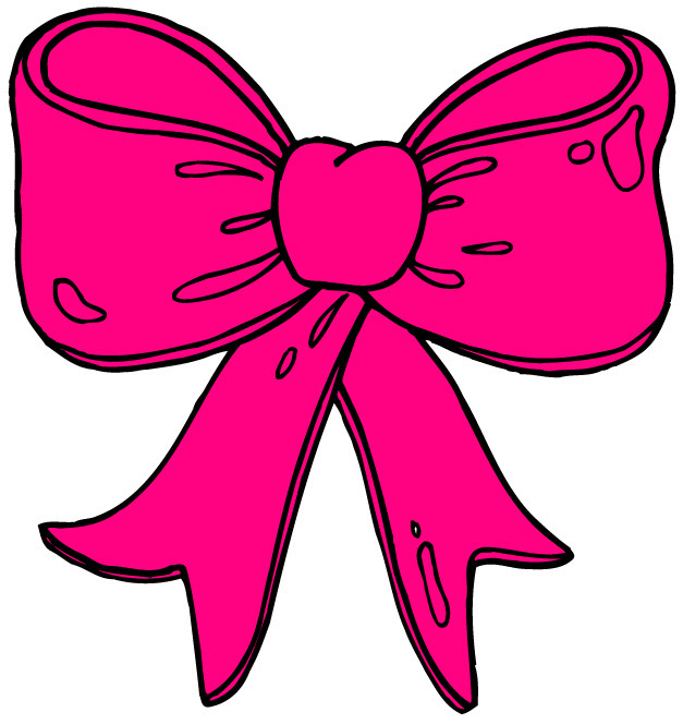 Cheer Bow Clipart.