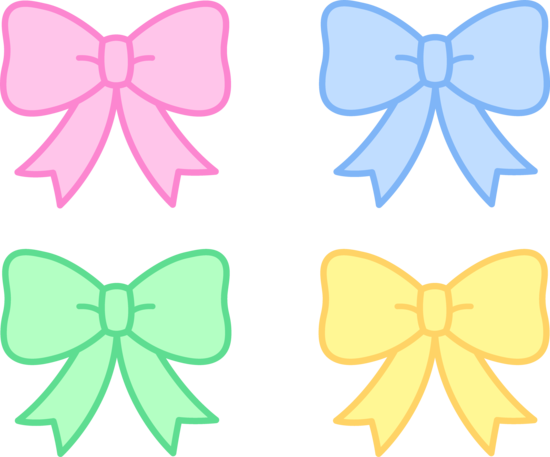 Bows Clipart.