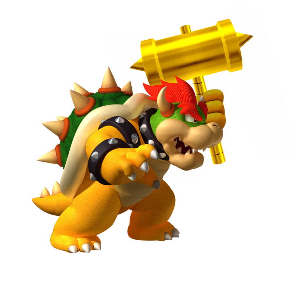 Download Bowser PNG Clipart For Designing Purpose.