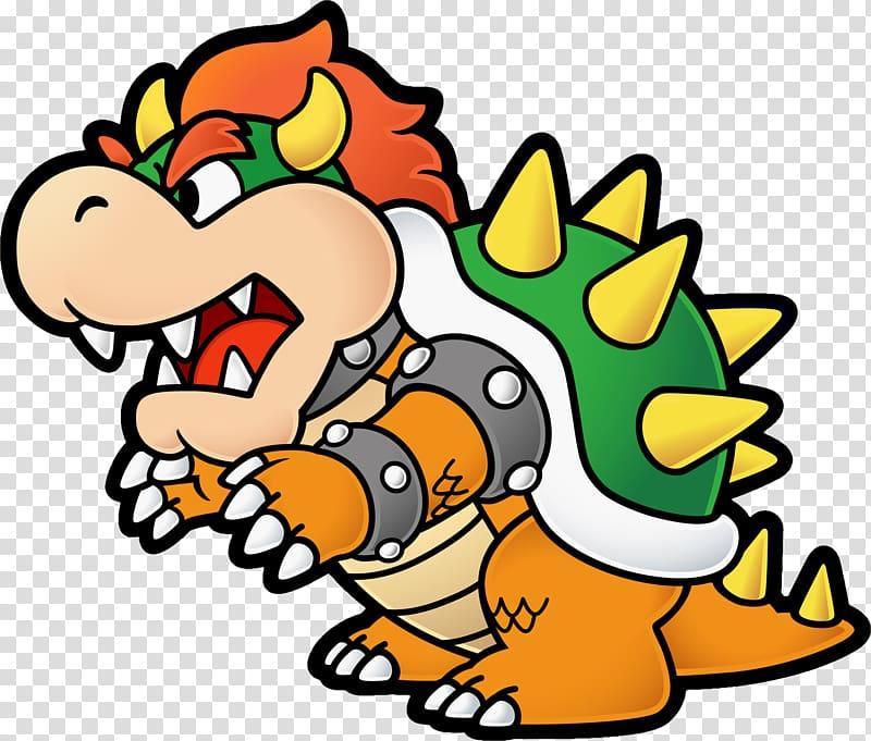 Super Paper Mario Bowser Super Mario Bros., bowser transparent.