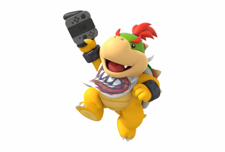 New Bowser And Jr Renders For The Nintendo Switch App,.