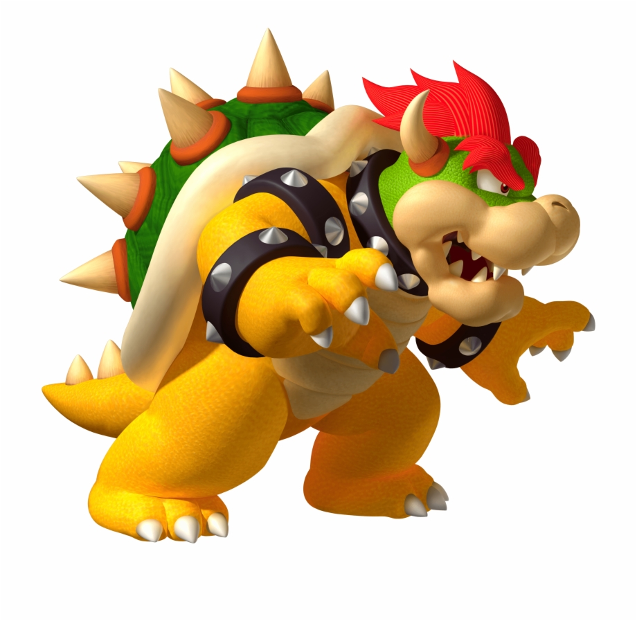 Angry Bowser.