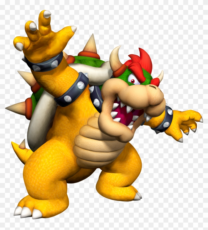Bowser Had A Very Defined Nose And Snout Like All Koopas.