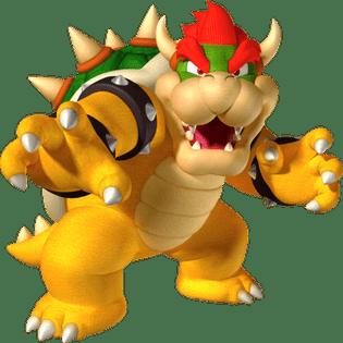 Mario Bowser transparent PNG.