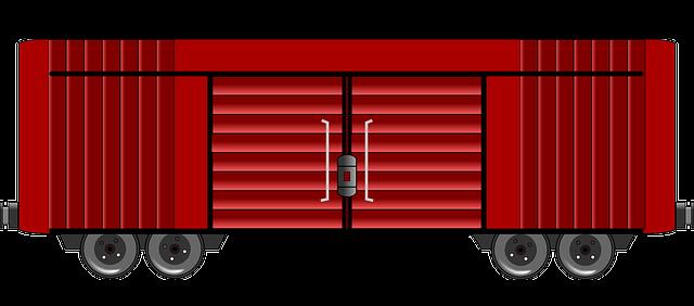 Free Boxcar Clip Art.