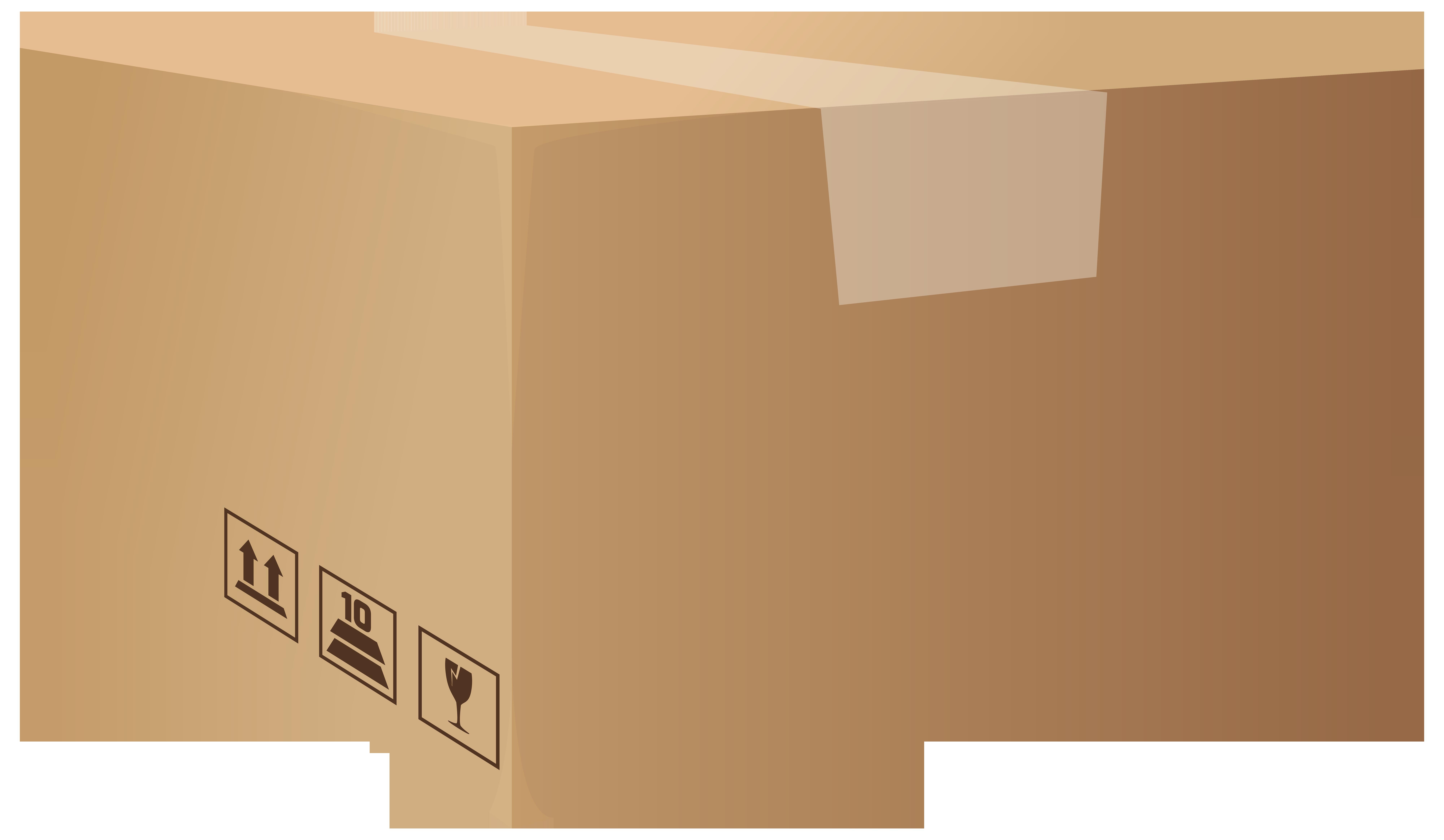 Packaging Box PNG Clip Art.