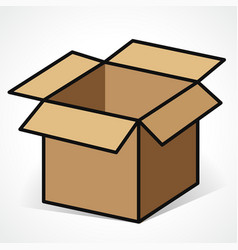 Cartoon Cardboard Boxes Clipart Vector Images (over 120).