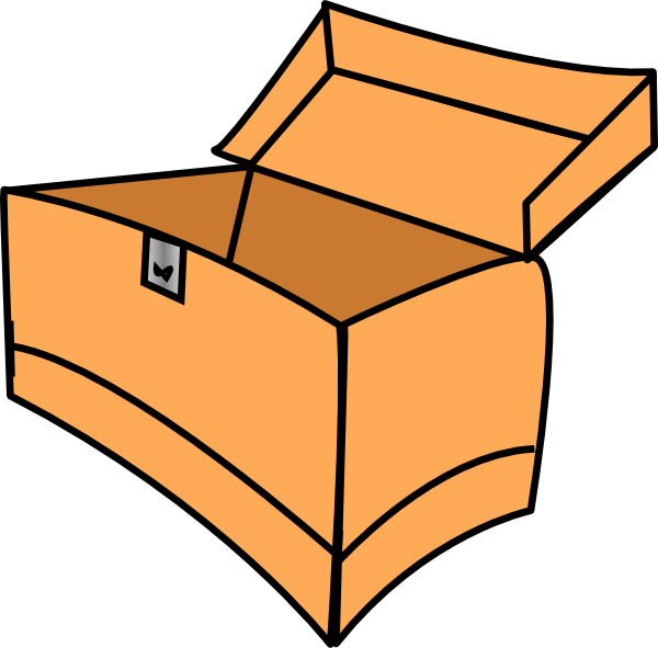 Toy Box Clipart.