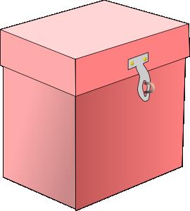 Closed Box Clipart.