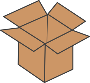 Brown Box Clip Art at Clker.com.