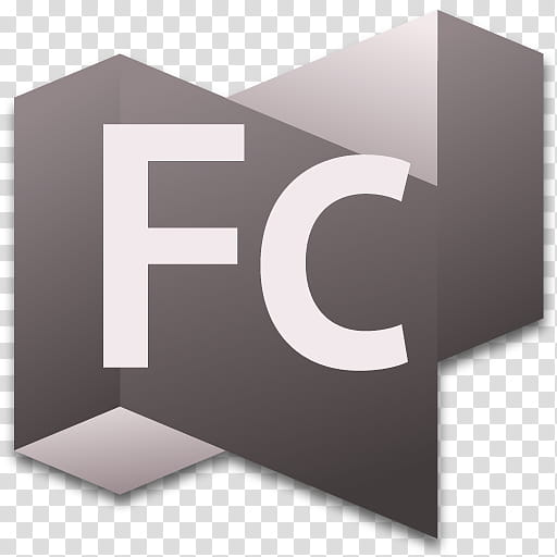 CS Box Set Apps , gray and white FC logo illustration.