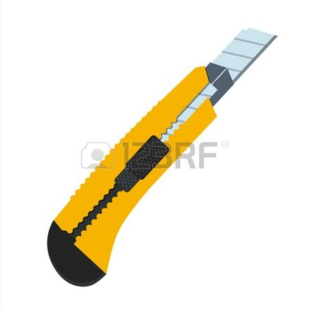 Box cutter clipart #8