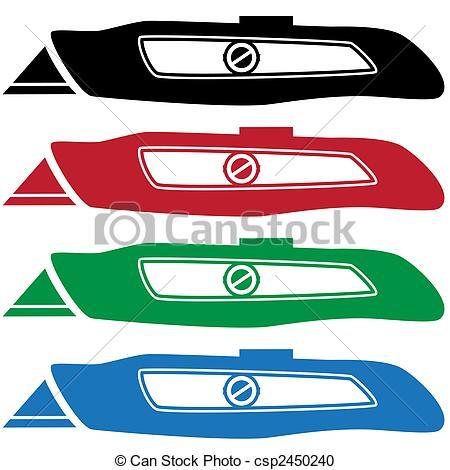 Box cutter Vector Clip Art Royalty Free. 787 Box cutter clipart.