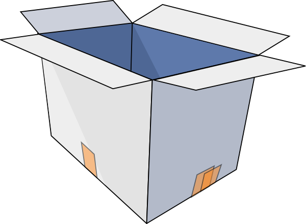 Box clipart free.
