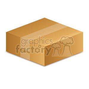 closed box illustration clipart. Royalty.