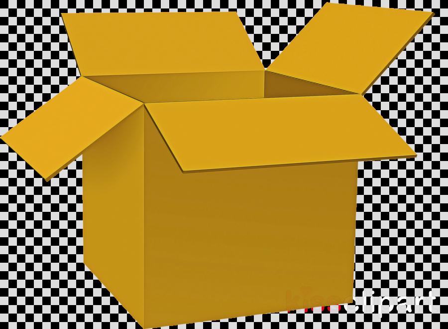 yellow box shipping box clip art carton clipart.