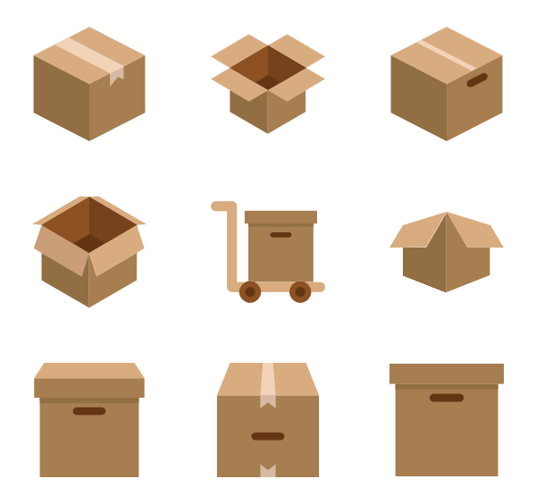 Box PNG Images Transparent Free Download.